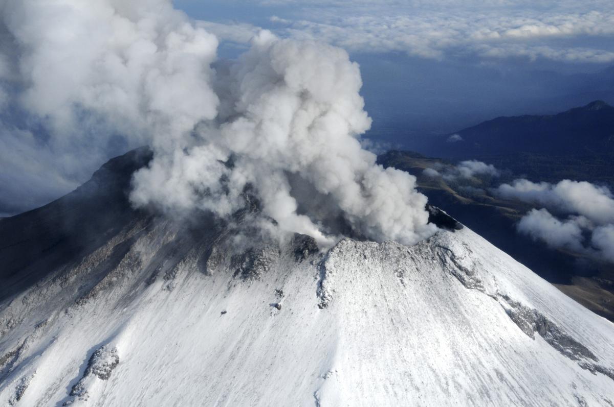 Popocatépetl En Vivo